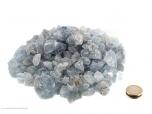 Celestine Small Rough Stones - 1 lb