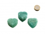 Amazonite Small Heart - 1 pc