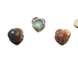 Polychrome Jasper Small Heart - 1 pc