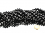 Shungite Bead Strands 12 mm - 1 pc