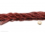 Thulite Bead Strand 8 mm - 1 pc