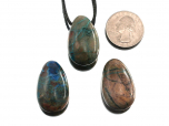 Chrysocolla Drop Bead Pendant