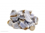 Blue Lace Agate Chips/Small Rough Stones - 1 lb