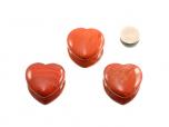 Red Jasper Heart - 1 pc