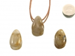 Rutilated Quartz Drop Bead Pendant
