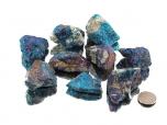 Chalcopyrite (Peacock Ore) Rough Stones - 1 lb