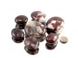 Red Tourmaline (Rubellite) XL Tumbled Stones - 1 lb