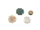 Flat Stone Flowers - 3 Piece Unit
