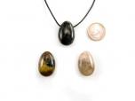 Nellite (Lionskin) Drop Bead Pendant