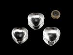 Rock Crystal Heart - 1 pc