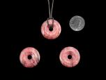 Thulite Jewelry Donut 30 mm - 1 pc