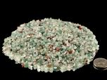 Aventurine Green Tumbled Stones Micro - 1 lb