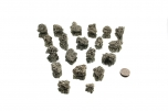 Pyrite Crystal Clusters - 1 lb