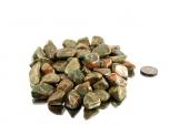 Unakite Tumbled Stones - medium size- 1 lb