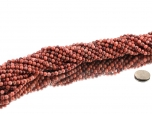 Thulite Bead Strand 6 mm - 1 pc