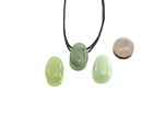 Chinese 'New Jade' Drop Pendant