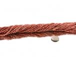 Thulite Bead Strand 4 mm - 1 pc