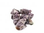 Amethyst Chevron Rough Stones - 1 lb