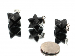 Shungite Merkabah (Star) Pendant - 1 pc