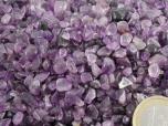 Amethyst Tumbled Stones Micro - 1 lb